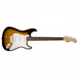 Squier by Fender Bullet Stratocaster with Tremolo Brown Sunburst
