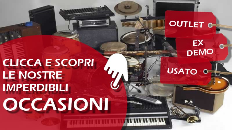 Occasioni outlet ex demo