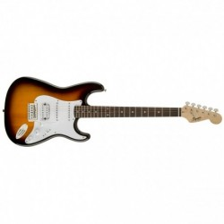 Squier Bullet Stratocaster with Tremolo HSS, Brown Sunburst