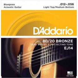 D'Addario EJ14 80/20 Bronze Round Wound