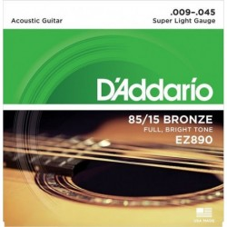 D'Addario EZ890 85/15 Great American Bronze RW