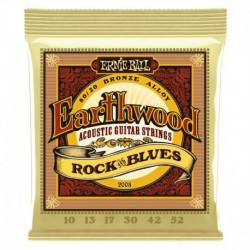 Ernie Ball 2008 Earthwood Rock & Blues con Sol Liscio
