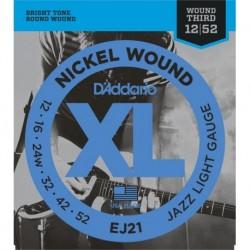 D'Addario EJ21 Nickel Round Wound