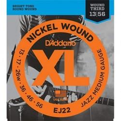 D'Addario EJ22 Nickel Round Wound