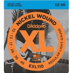 D'Addario EXL110 Nickel Round Wound