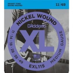 D'Addario EXL115 Nickel Round Wound