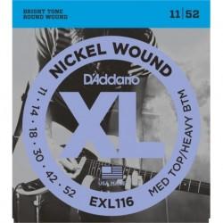 D'Addario EXL116 Nickel Round Wound