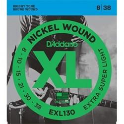 D'Addario EXL130 Nickel Round Wound