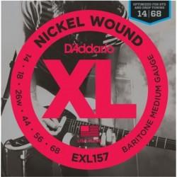 D'Addario EXL157 Nickel Round Wound