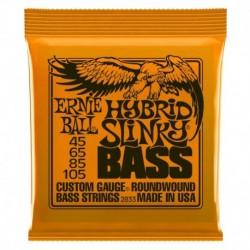 Ernie Ball 2833 Nickel Wound Hybrid Slinky 45-105
