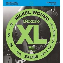 D'Addario EXL165 Nickel Round Wound