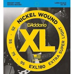 D'Addario EXL180 Nickel Round Wound