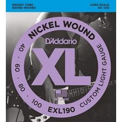 D'Addario EXL190 Nickel Round Wound