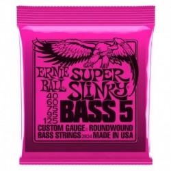 Ernie Ball 2824 Nickel Wound 5 corde Super Slinky