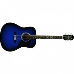 Eko Ranger 6 Blue Sunburst